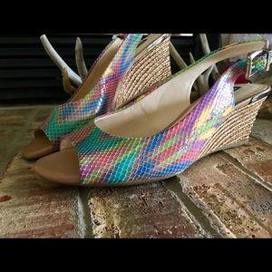 Alex Marie peep toe sandals